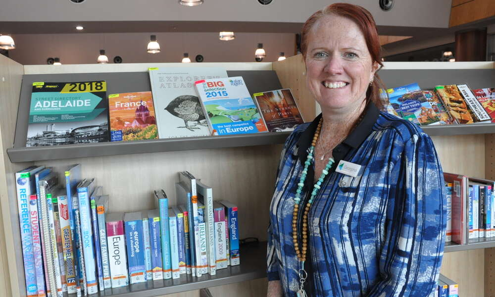 The City of Mount Gambier welcomes Georgina Davison to the team as Mount Gambier Library Manager. Georgina has more than 26 years' experience in public libraries in Queensland and the Northern Territory.