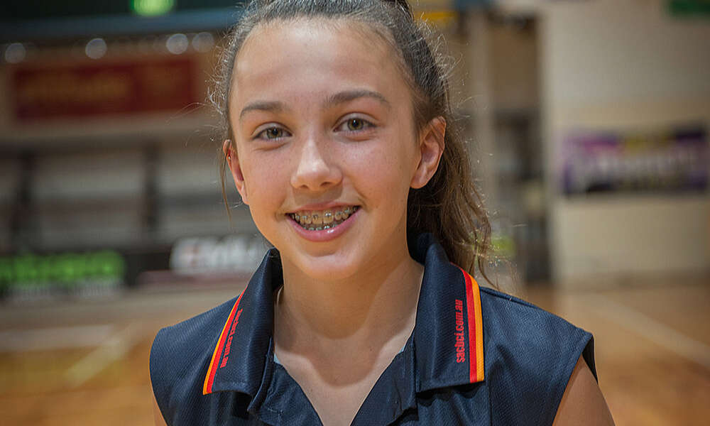 Basketball Mount Gambier's Emily Close, Commercial Club of Mount Gambier Exceptional Junior Awardee 2017.