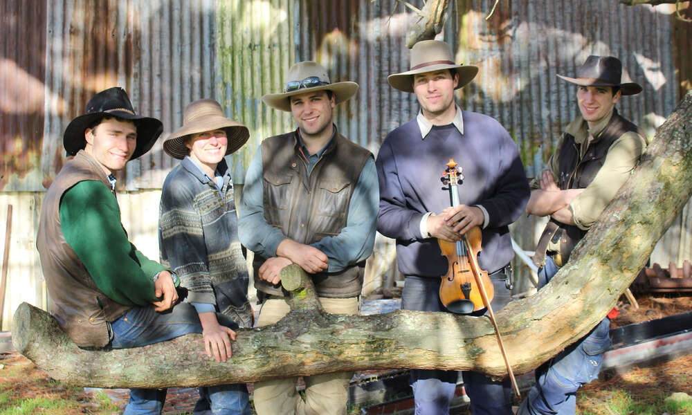 Local quintet Cumpas will perform roman themed musical compositions at the Ancient Rome cocktail gala event on Friday 16 August 2019.