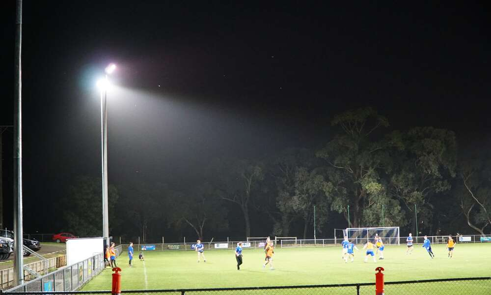 Apollo Football Club received $35,000 towards lighting upgrades under the 2020/2021 Sport and Recreation Capital Works Program.